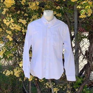 Men's GAP M White Button Down Oxford Shirt